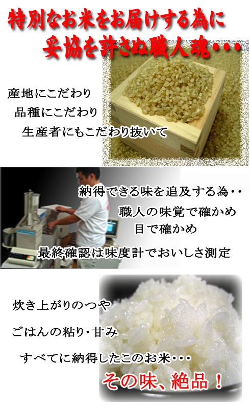 おいしいお米を作る為に